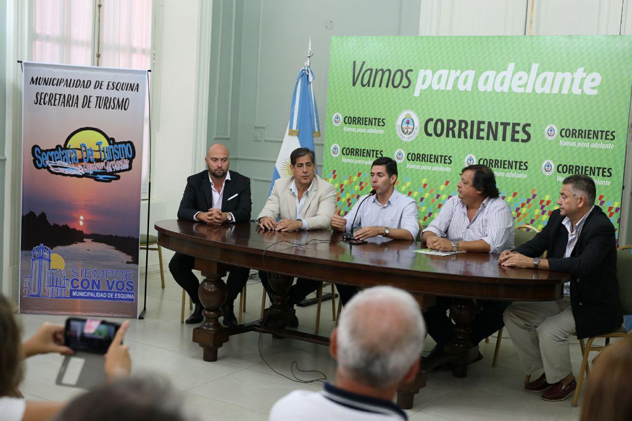 La 32° Fiesta Nacional del Pacú en Esquina fue presentada hoy