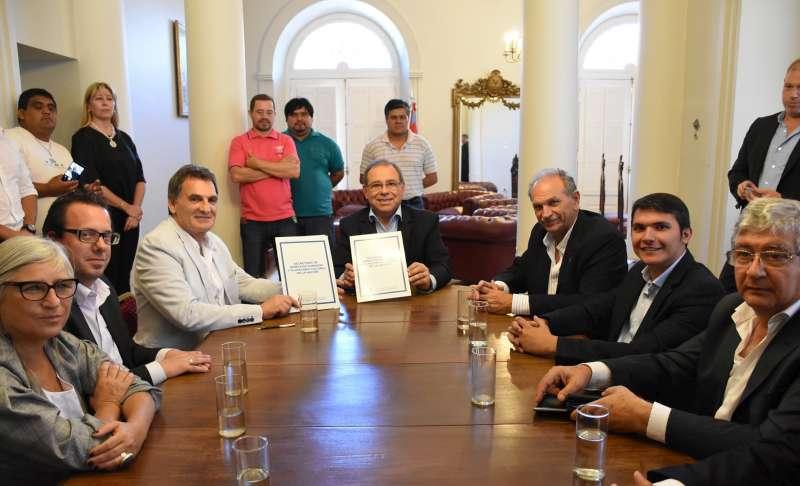 La Municipalidad se sumó a la Red de desarrollo local para fortalecer acciones en Derechos Humanos