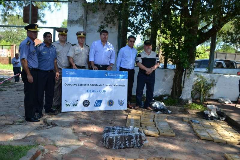 Operativo antidroga: López Desimoni destacó el trabajo de inteligencia realizado por la Policía