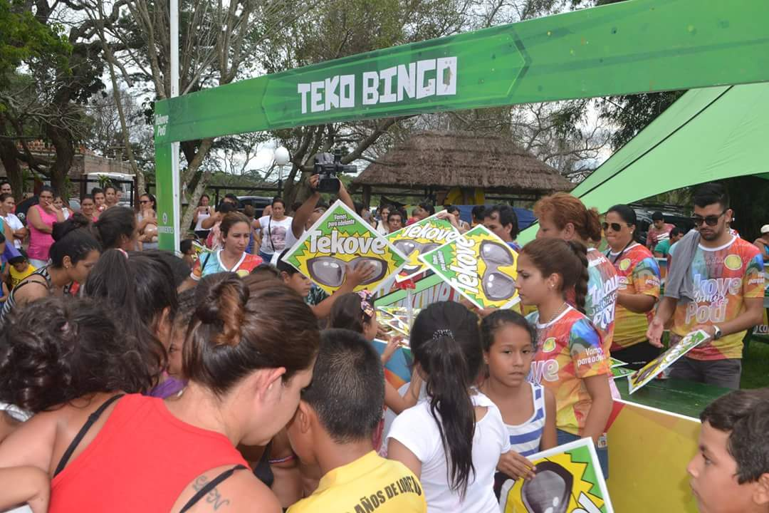 Las familias de Loreto e Itá Ibaté disfrutaron al son del Tekoverano