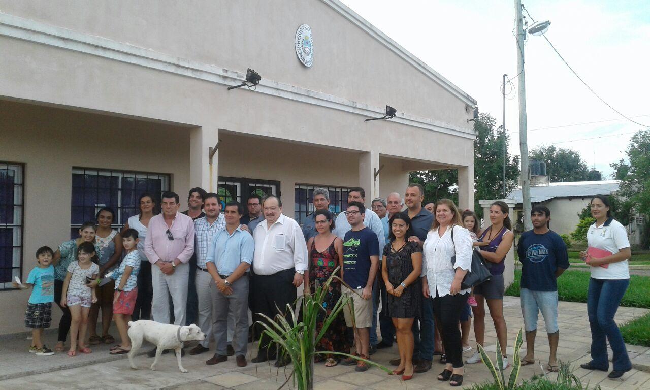 Funcionarios de Seguridad se reunieron con vecinos de Riachuelo
