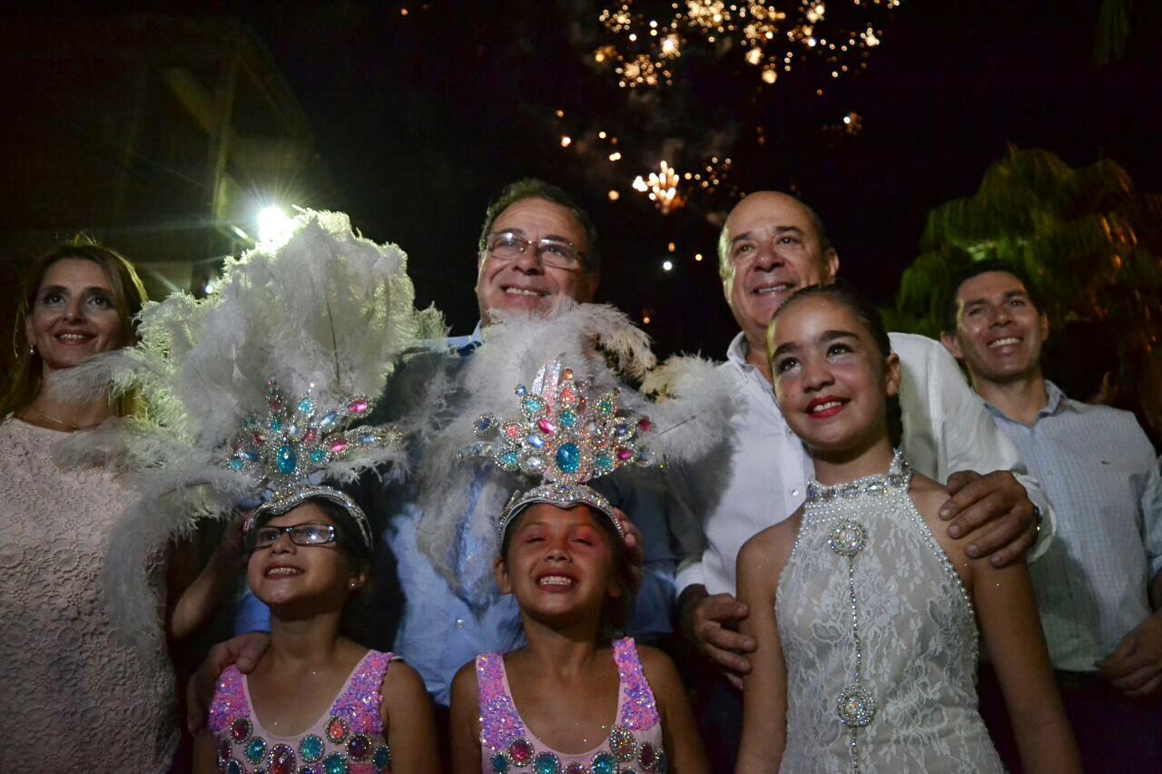 Comenzaron los Carnavales Barriales con una multitudinaria convocatoria