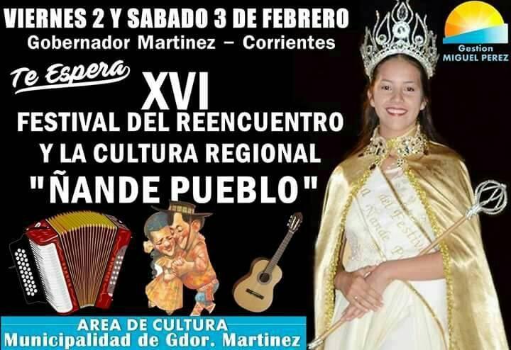 Se viene el Festival del Reencuentro y la  Cultural Regional en Gobernador Martínez