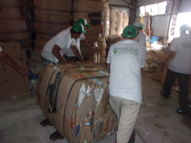 El ICAA invita a llevar material al Punto Verde de Cooperativa Fortaleza