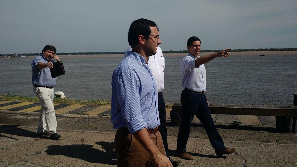 Iniciaron tareas de relevamiento en el puerto de Corrientes para la futura Terminal Fluvial de Pasajeros