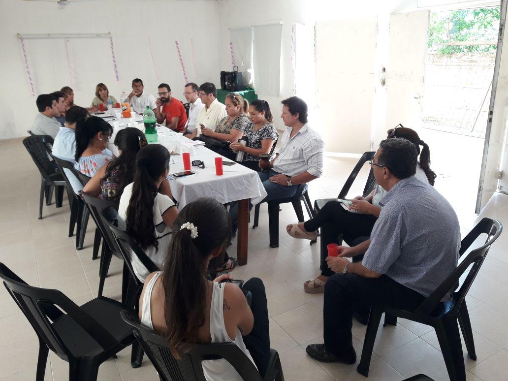 Primera reunión de abordaje territorial sobre Consumo Problemático