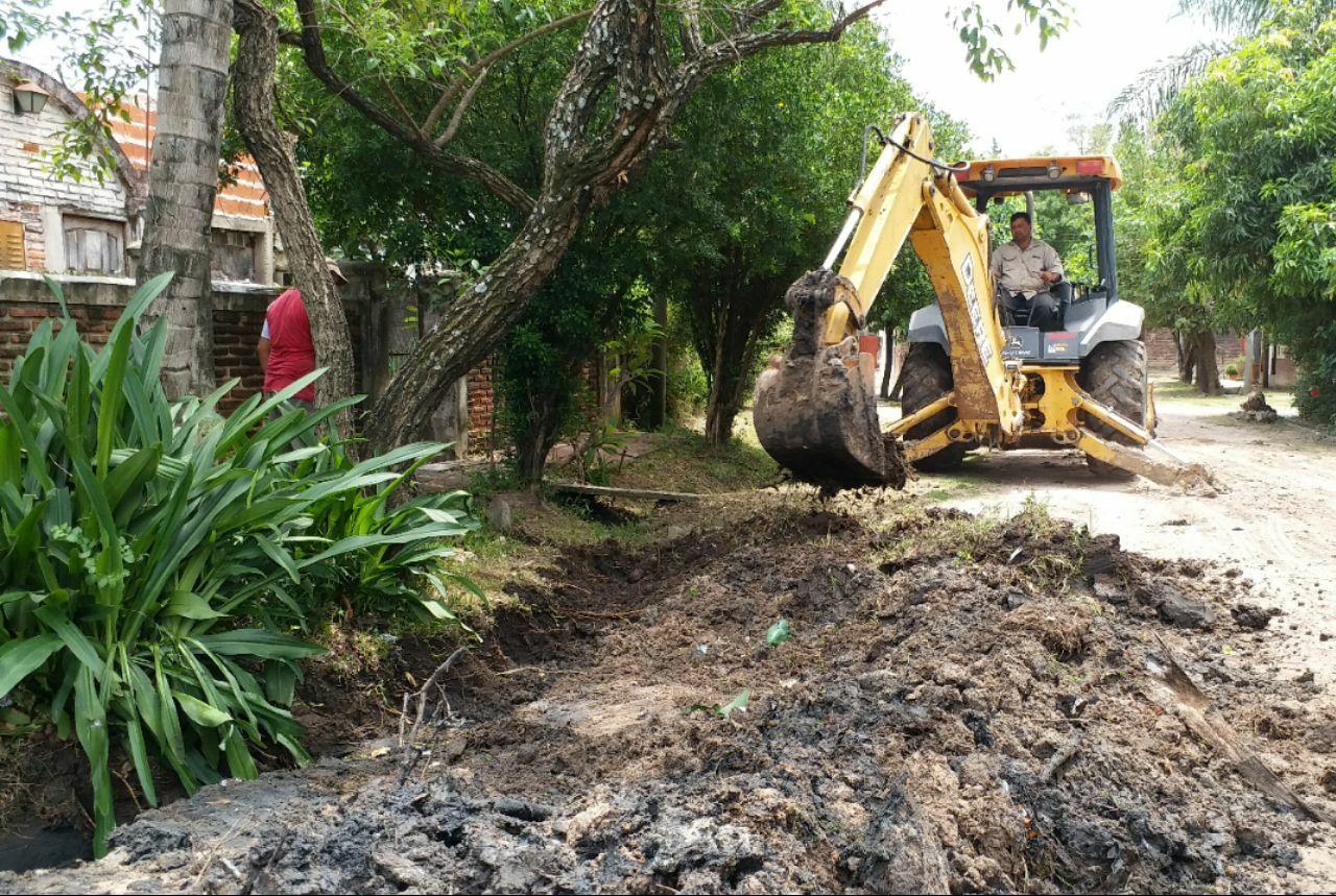 La Municipalidad ejecuta obras de mejoras en los barrios