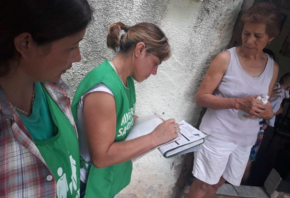 Salud Pública realizó búsqueda de febriles en Mercedes