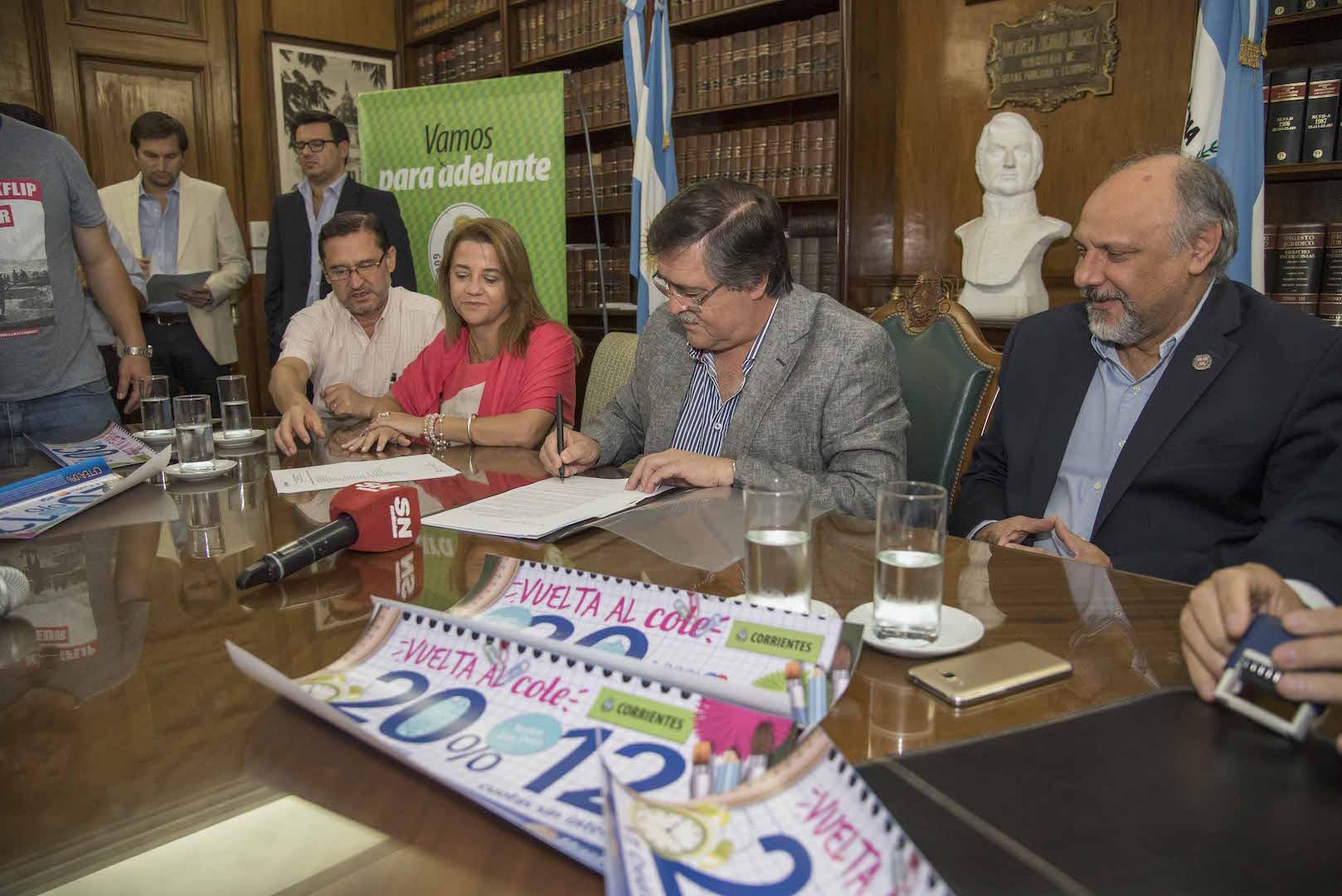 Con fuertes descuentos y premios,  Provincia lanza la Canasta Escolar 2018