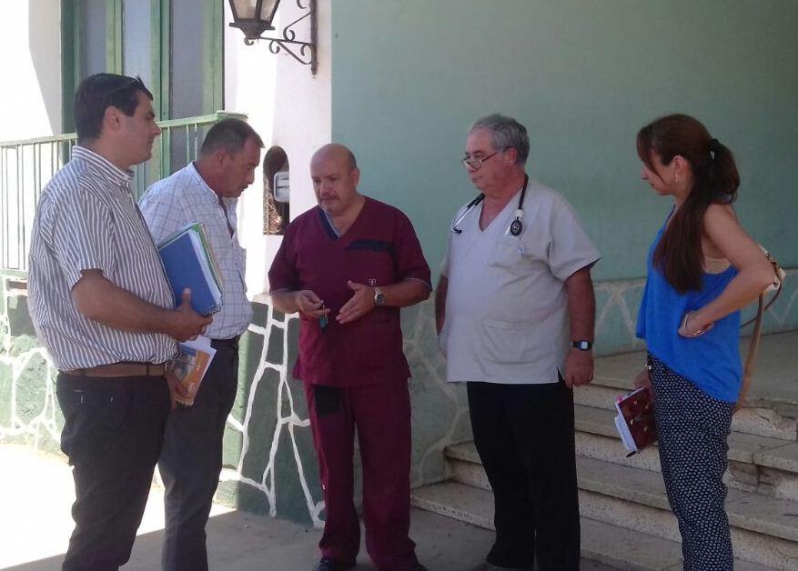 Salud Pública trabaja en el fortalecimiento del Hospital de Monte Caseros