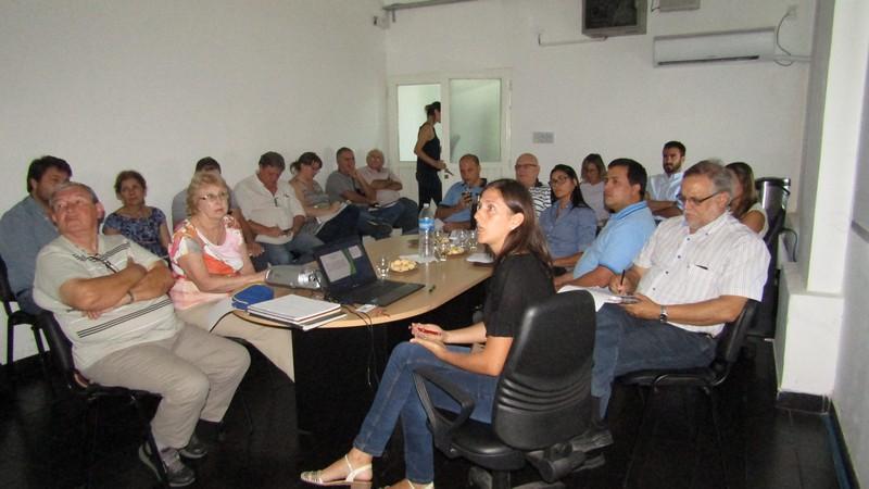 En la reunión los temas centrales  fueron Mosca de los frutos y HLB