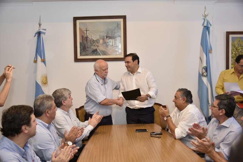El Gobernador Gustavo Valdés ratificó  el compromiso con la ciudadanía de Goya