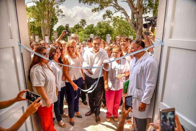 Valdés anunció la modernización total del Hospital de Esquina