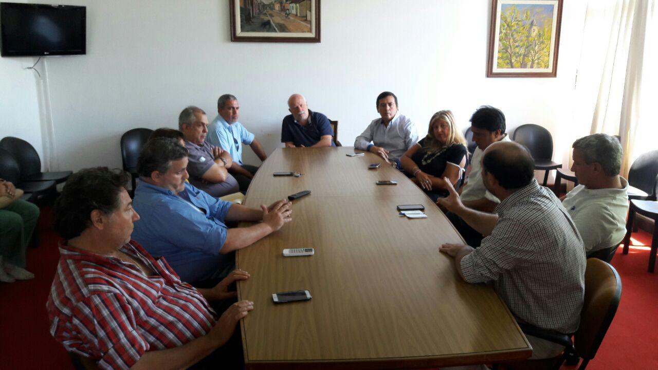 Empresarios de Goya expresaron sus problemas al subsecretario Benitez