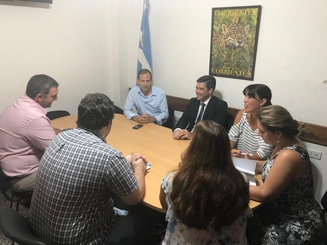 La Defensoría programa tarea conjunta con el Centro de Acceso a la  Justicia del Ministerio de Justicia y Derechos Humanos de la Nación