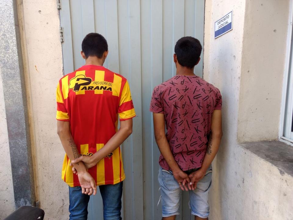 Detenidos vinculados con diferentes hechos delictivos