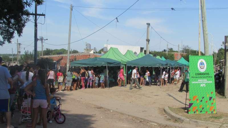 Salud Pública realizó un operativo integral en el barrio Patono