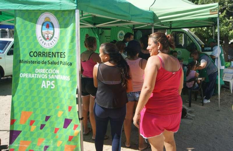 Salud Pública recorrió el barrio Patono con servicios para la población