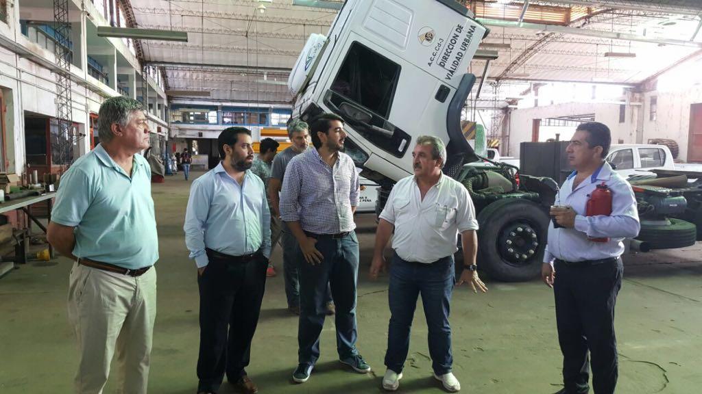 Gestionan para que el camión simulador de maquinaria vial llegue a Corrientes