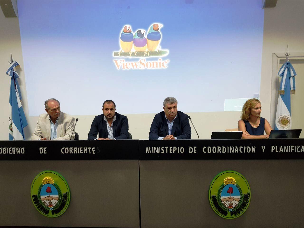 El Ministro Ortega dejó inauguro las jornadas de Capacitación para la Elaboración de Mapas de Riesgo