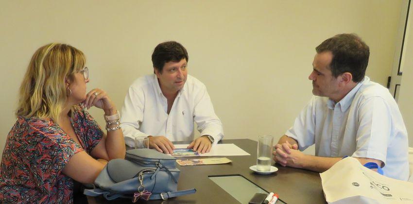 Schiavi y el ministro de Industria del Chaco coincidieron en trabajar por el desarrollo regional