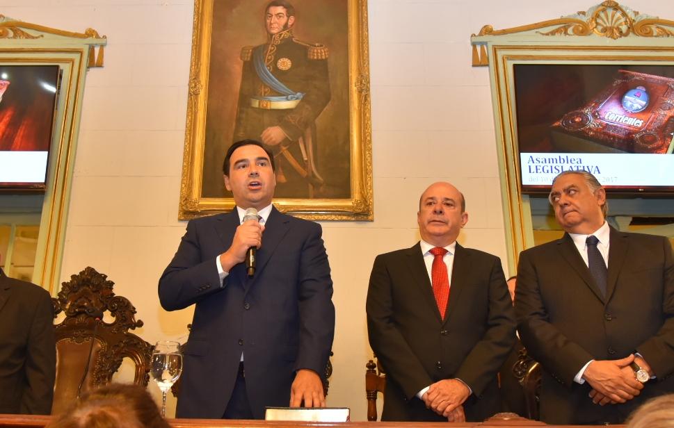 El gobernador Valdés realizará su primera apertura  de sesiones ordinarias de la Legislatura provincial