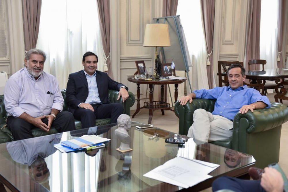 El gobernador Gustavo Valdés analizó la situación  educativa de Corrientes con el ministro Finocchiaro
