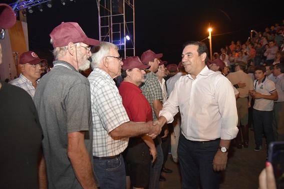 El gobernador Valdés participó de la Cantata a  San Martín y encabeza los actos centrales en Yapeyú