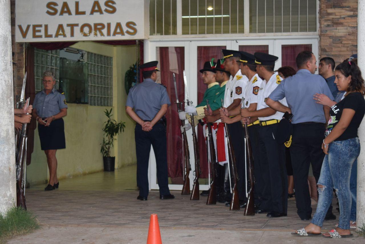 Corrientes despide con honores  al Comisario Inspector Duarte