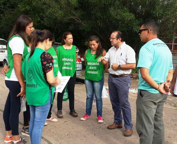 Salud Pública realizó bloqueo vectorial y búsqueda de febriles en el barrio San Benito