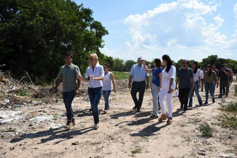 Municipio y Nación continúan con los trabajos de urbanización del Bañado Sur