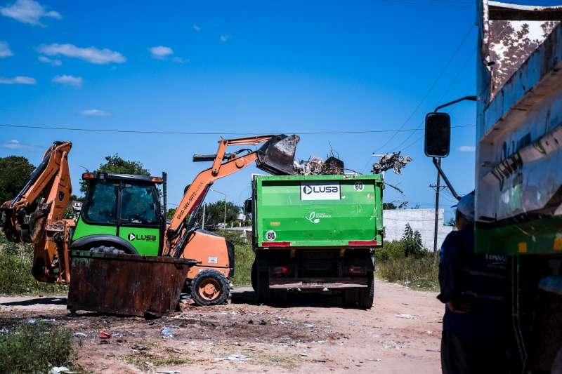 El operativo de descacharrado llegó a tres nuevos barrios