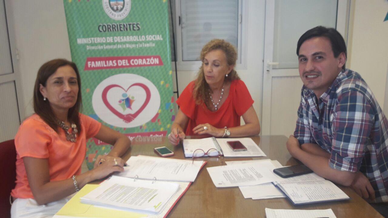El COPNAF se reunió con responsable de registro único de adopción