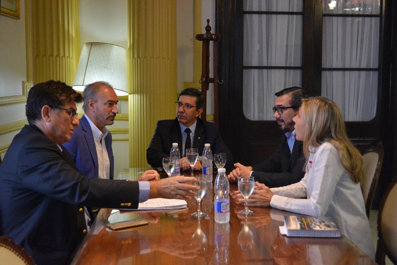 Diputados de la Comisión de Seguridad coordinaron  agenda de temas con el ministro López Desimoni