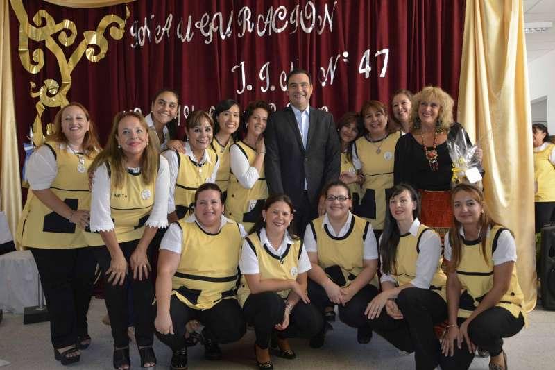 El gobernador Valdés destacó  el rol de la Educación Pública