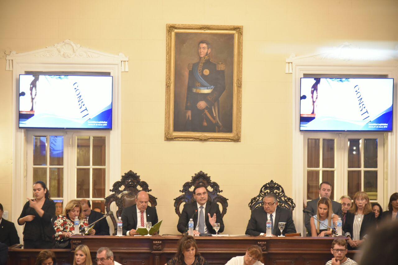 """Gustavo Valdés: """"Desarrollo, Modernización  e Inclusión Social serán los ejes de mi gestión"""""""