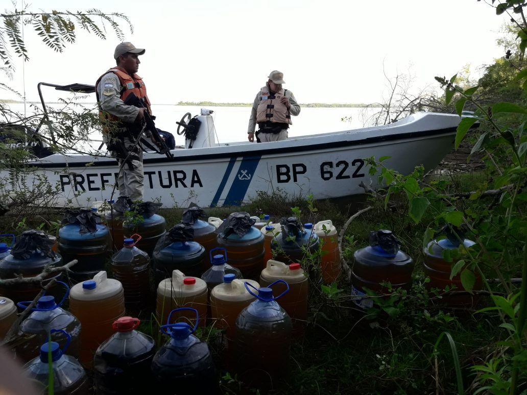 Secuestran cueros de animales, artes de pesca y combustible ilegal