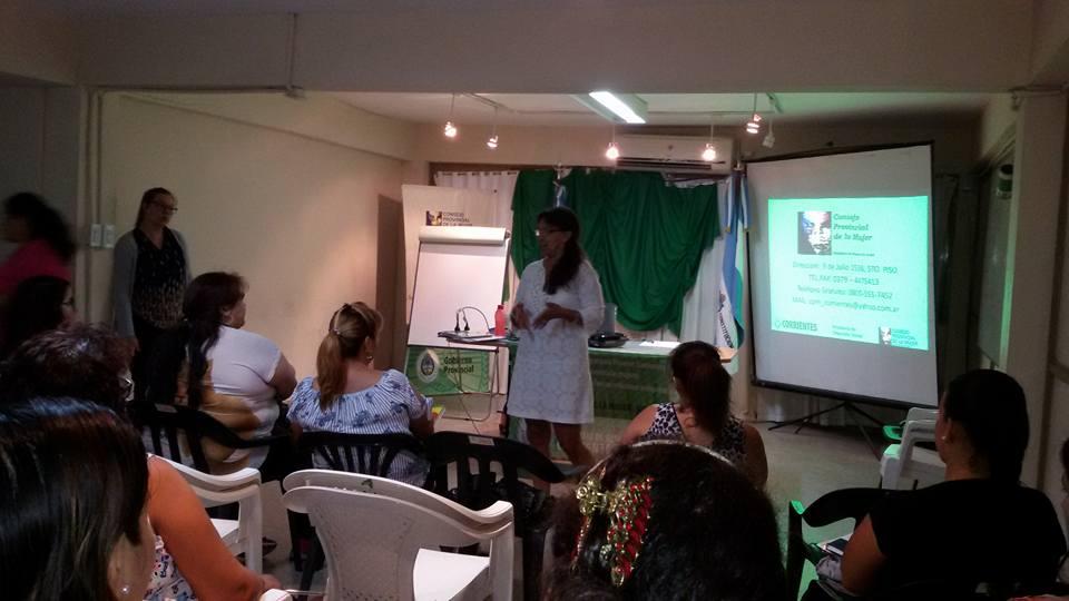 Taller de Monitoras Comunitarias en Prevención a la Violencia de Genero