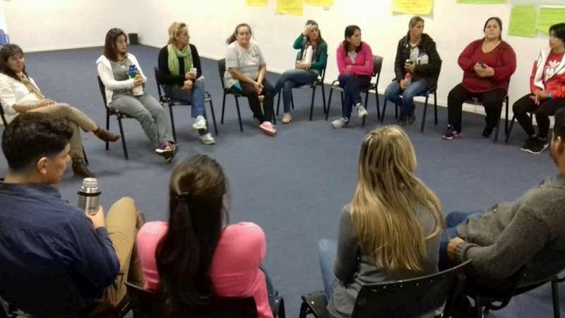 El Consejo Provincial de la Mujer articula con SEDRONAR y el Municipio