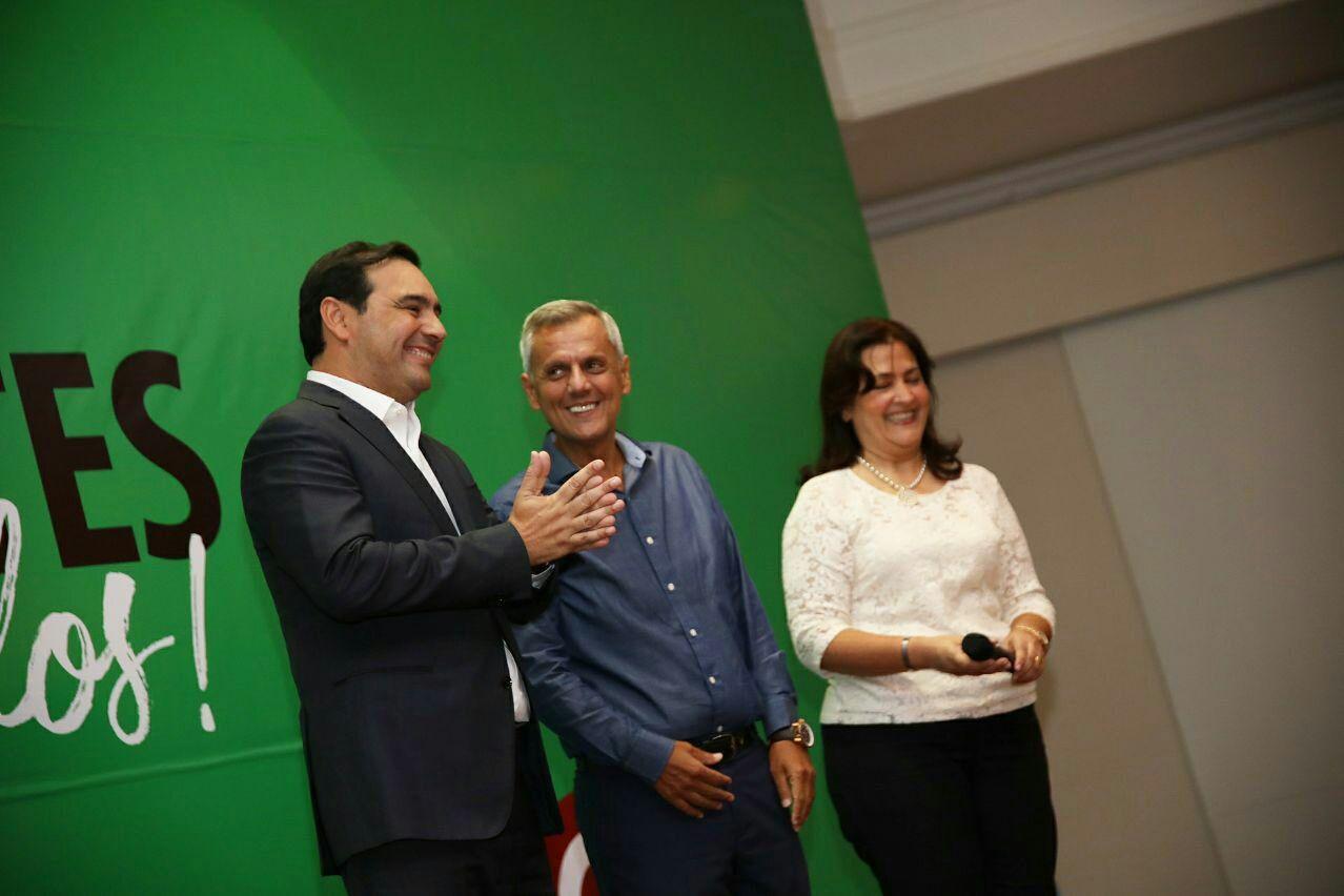 Gustavo Valdés asistió a la conferencia de Bernardo Stamateas