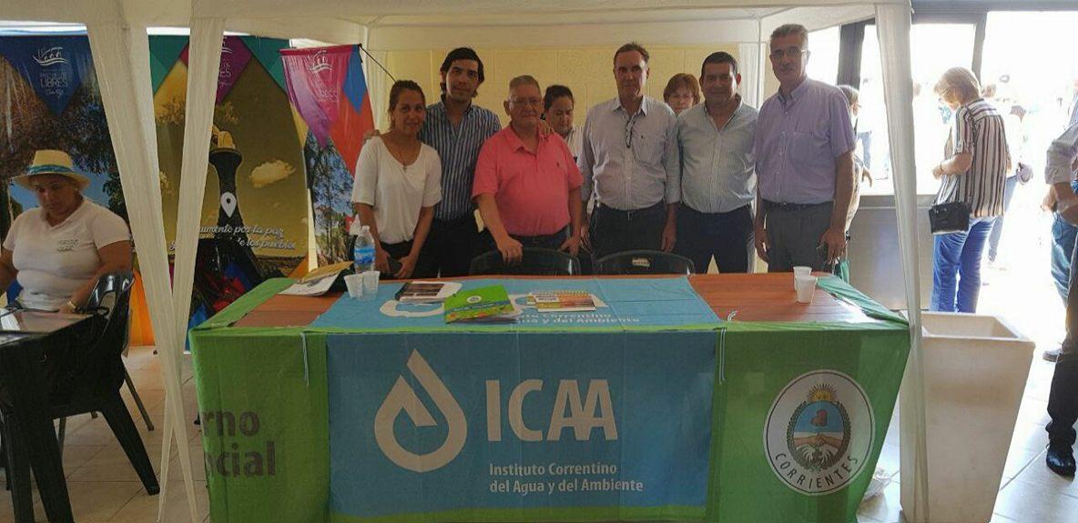 El ICAA participó de la apertura cosecha de arroz