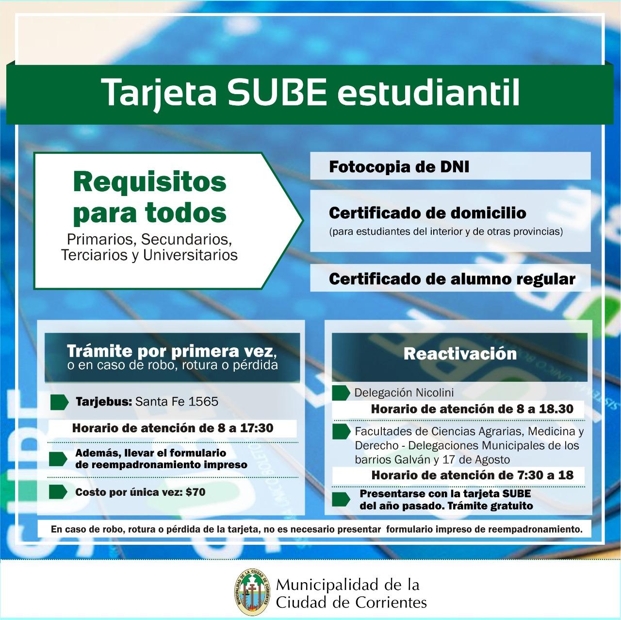 La Municipalidad amplió los horarios de atención para cubrir la demanda de trámites de la SUBE