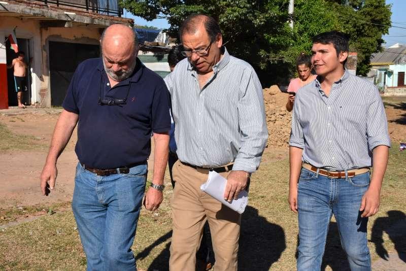 La Municipalidad realiza obras de reconstrucción de calles en diferentes barrios de la ciudad