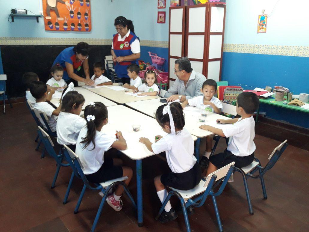 La Municipalidad brinda una alimentación adecuada y saludable a los niños