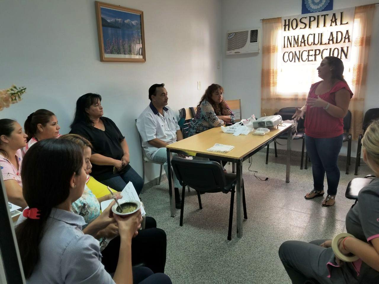 Se realizó una capacitación sobre enfermedades respiratorias en Ita Ibaté