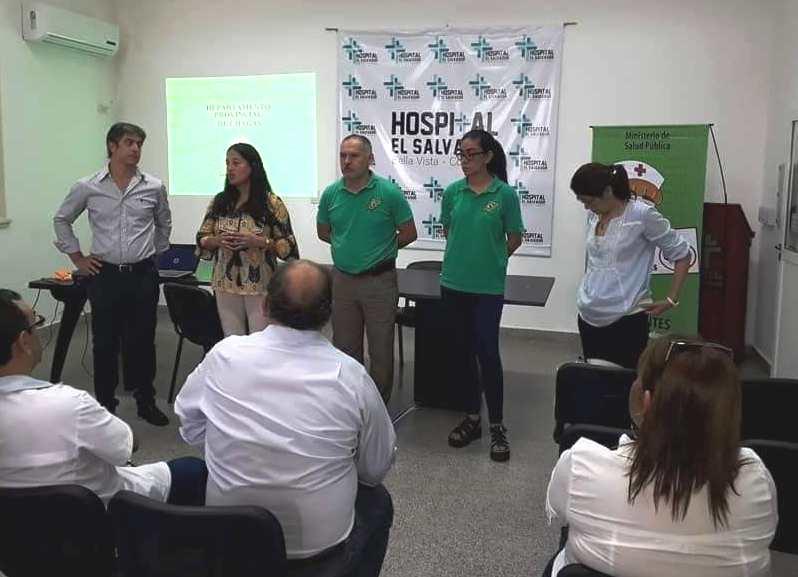 Salud Pública realizó un taller de actualización sobre Chagas en Bella Vista