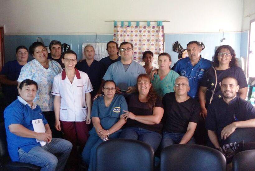 Salud Pública realizó una capacitación sobre enfermedades respiratorias Concepción