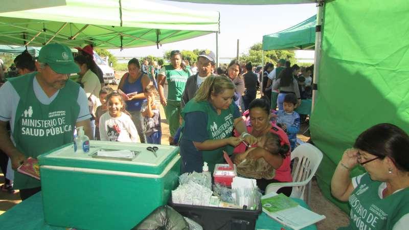 Se realizó un operativo de salud en el barrio Quinta Ferré
