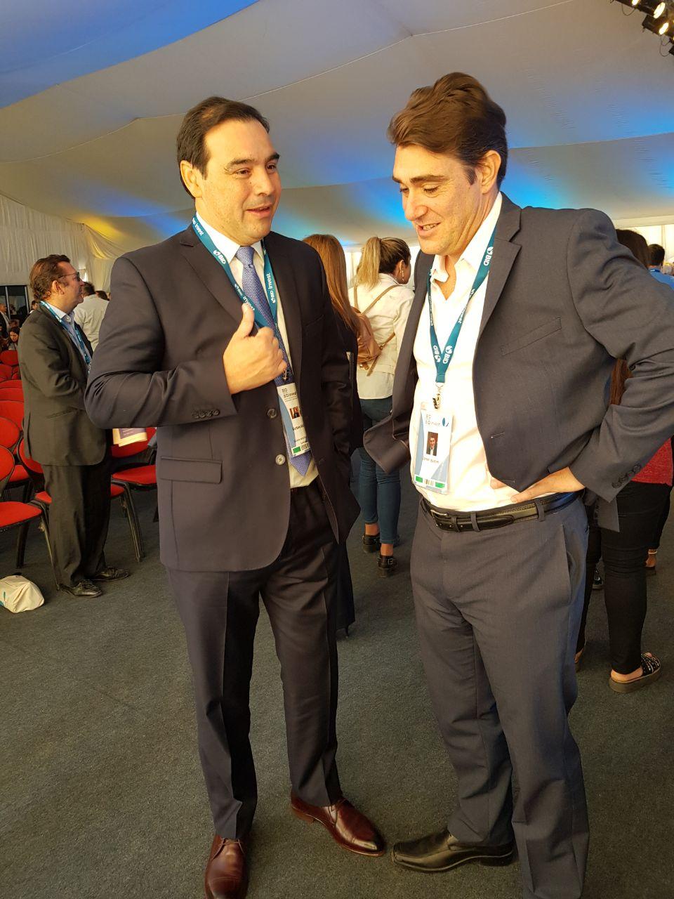 Valdés desarrolla una amplia agenda en Mendoza con eje en la innovación