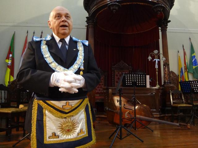 Visitó Corrientes el Gran Maestre de la Masonería Argentina